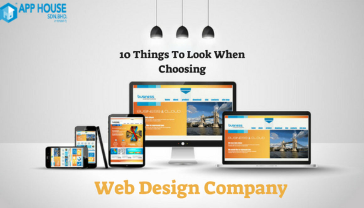 10 Things To Look When Choosing A Web Design Company
